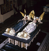 Bradley Paintings - France: Tomb Of John Ii by Granger