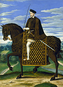 Cloak Paintings - Henry Ii (1519-1559) by Granger