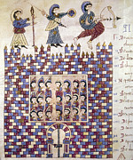 Manuscript Illumination Prints - Spain: Reconquest Print by Granger