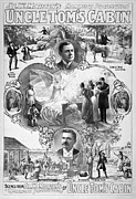 1899 Framed Prints - UNCLE TOMS CABIN, c1899 Framed Print by Granger