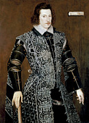 Statesman Painting Posters - Sir Robert Devereux Poster by Granger