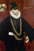 Elizabethan Posters - Sir John Hawkins Poster by Granger