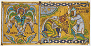 Byzantine Paintings - HERACLIUS (c575-641 A.D.) by Granger