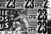 Early Painting Prints - Circus Advertisement, 1936 Print by Granger