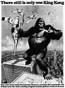 1975 Framed Prints - King Kong, 1976 Framed Print by Granger
