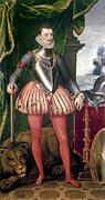 Ruff Painting Framed Prints - John Of Austria (1547-1578) Framed Print by Granger
