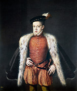 Sanchez Painting Prints - Carlos, Prince Of Asturias Print by Granger