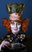 Mad Hatter Acrylic Prints - 015. What Can You Do Acrylic Print by Tam Hazlewood