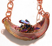 Funky Jewelry Originals - 0871 Rock in da Boat by Dianne Brooks