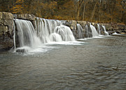 Fort Smith Arkansas Prints - 0902-6916 Natural Dam 1 Print by Randy Forrester
