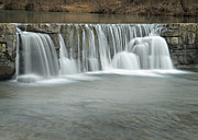 Fort Smith Arkansas Prints - 0902-7025 Natural Dam 3 Print by Randy Forrester