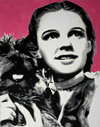 Judy Garland Framed Prints - - Dorothy - Framed Print by Luis Ludzska