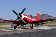 Casa Grande Photos -  Goodyear F2G-1 Corsair NX5588N Race 57 Cactus Fly-in March 3 2012 by Brian Lockett