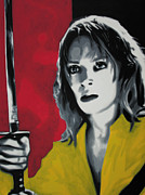 Kill Bill Prints - - Kill Bill - Print by Luis Ludzska
