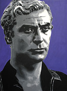 Michael  Caine Paintings - - Michael Caine - by Luis Ludzska