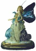 Fantasy Ceramics - 01MD076-Madame Butterfly by Shirley Heyn