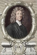 Noah Framed Prints - 1681 Thomas Burnett Colour Portrait Framed Print by Paul D Stewart