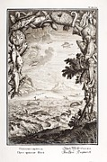 Creationism Framed Prints - 1731 Johann Scheuchzer Creation 5th Day Framed Print by Paul D Stewart