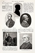 Francis Prints - 1897 Francis Galton British Eugenics Print by Paul D Stewart