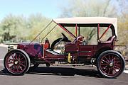 Historic Vehicle Prints - 1907 Panhard et Levassor Print by Jill Reger