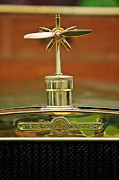 1907 Framed Prints - 1907 Stevens-Duryea U Touring Hood Ornament Framed Print by Jill Reger