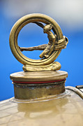 1912 Photos - 1912 Gobron-Brillie 12 CV Skiff Hood Ornament by Jill Reger