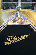 1920 Framed Prints - 1920 Pierce-Arrow Model 48 Coupe Hood Ornament Framed Print by Jill Reger