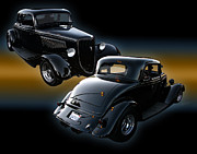 Digital Photography - 1934 Ford Coupe by Peter Piatt