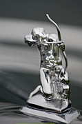 Pierce-arrow Photo Prints - 1935 Pierce-Arrow 845 Coupe Hood Ornament Print by Jill Reger