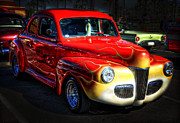 Ford Coupe Prints - 1941 Ford Coupe  Print by Saija  Lehtonen