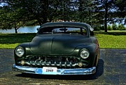 Lead Framed Prints - 1949 Mercury Lead Sled Framed Print by Tim McCullough