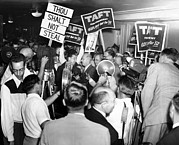Conservative Acrylic Prints - 1952 Republican National Convention Acrylic Print by Everett