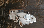 Car Reliefs - 1952 Rolls Royce Phantom III by Alok Mital