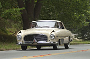 Shows Prints - 1954 Hudson Italia Touring coupe  Print by Jill Reger