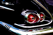1958 Chevy Framed Prints - 1958 Chevy Bel Air Framed Print by David Patterson