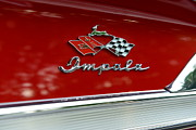 1958 Chevrolet Impala Prints - 1958 Chevy Impala Print by Paul Ward