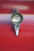 Hoodies Prints - 1961 Rambler Hood Ornament Print by Jill Reger