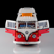 1962 Vw Lego Bus Print by Noah Katz