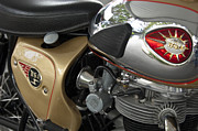 Photographer Lightning Photo Prints - 1966 BSA 650 A-65 Spitfire Lightning Clubman Motorcycle Print by Jill Reger
