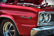 Mopar Metal Prints - 1966 Dodge Coronet 500 426 HEMI Metal Print by Gordon Dean II