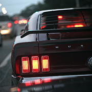 Cleveland Originals - 1969 Ford Mustang Mach 1 by Gordon Dean II