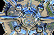 1970 Volkswagen Vw Karmann Ghia Wheel Print by Jill Reger