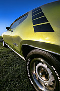 Mopar Metal Prints - 1971 Plymouth GTX Metal Print by Gordon Dean II