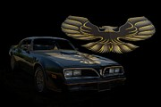 Bandit Posters - 1978 Pontiac Trans Am Poster by Tim McCullough