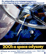 1960s Poster Art Posters - 2001 A Space Odyssey, 1968 Poster by Everett