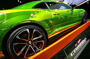 Hall Digital Art Posters - 2012 Chevy Camaro Hot Wheels Concept Poster by Gordon Dean II