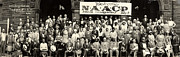 Naacp Framed Prints - 20th Annual Session Of The N.a.a.c.p Framed Print by Everett