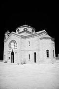 Republic Prints - 20th Century Agios Georgios Church In St Georges Bay Near Pegeias Republic Of Cyprus Print by Joe Fox
