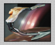 Caddy Digital Art Posters - 35 Caddy Hood Ornament Poster by John Breen