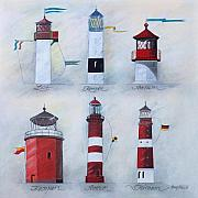 Karl - Heinz Templin - 6 Lighthouses